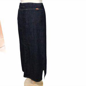 MAVI Vintage Long Denim Skirt with side slits